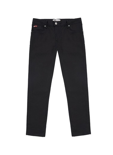 Lee Cooper Lee Cooper Erkek Siyah Denim Pantolon Renksiz